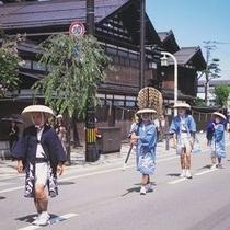 愛宕神社祭典大名行列 毎年8月第4日曜日 (c)あきたファン・ドッと・コム