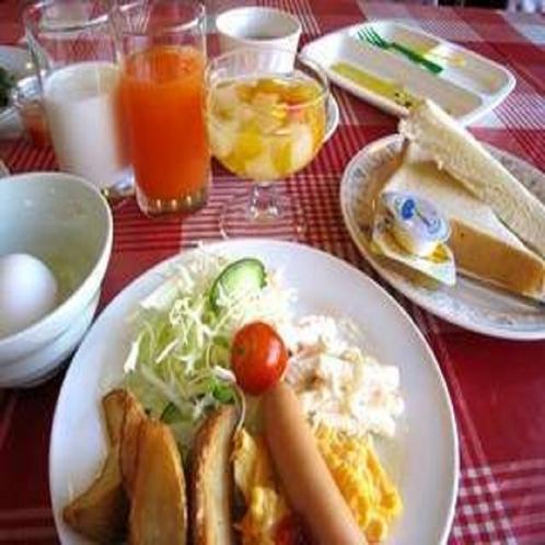 ■朝食:洋食メニューもヘルシー