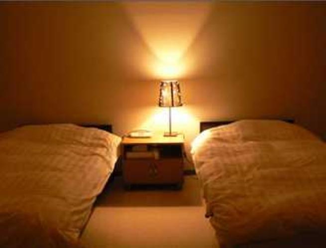 ツインベットのお部屋