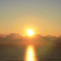 日の出(2016年の日の出の撮影写真)