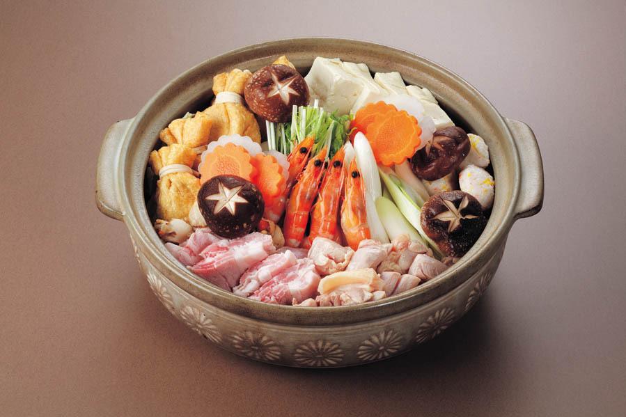ちゃんこ鍋セット2530円(税込)