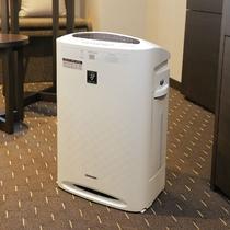 客室内空気加湿清浄機