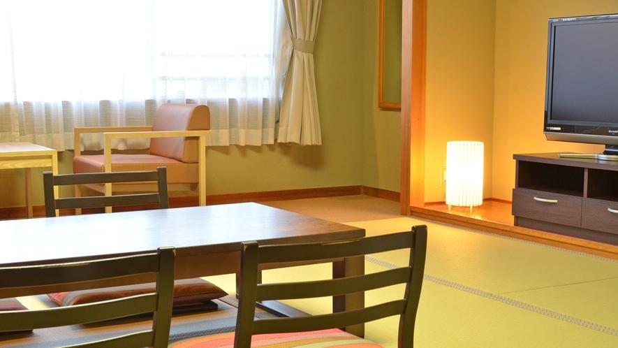 ■落ち着きのある和室