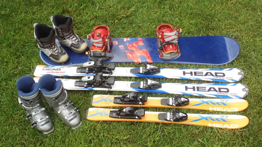 お得なレンタルスキー・スノーボード