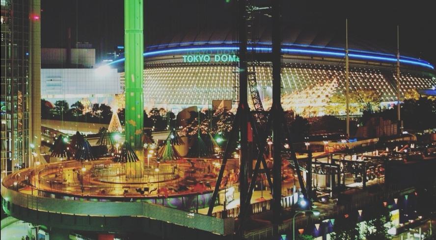 東京ドーム夜景