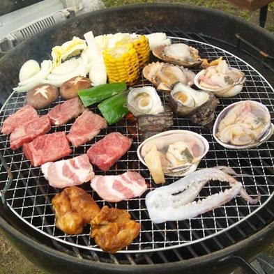 【BBQ】特選!海鮮セットのBBQセットプラン【添い寝無料】【ファミリー】【家族同室】【コテージ】