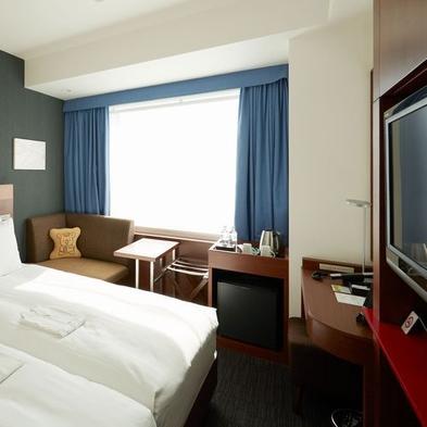 【カジュアルプラン/リーゾナブル】ハリウッドツインに泊って広いベッド独占しちゃおう(朝食付)