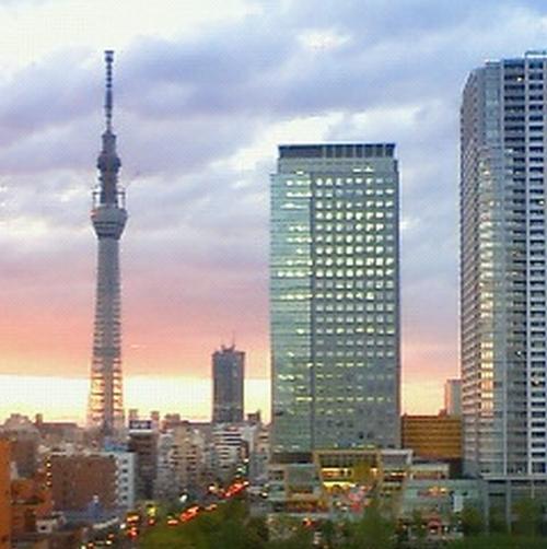 東京スカイツリー(夕方/イメージ)