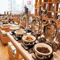 朝食:和洋食ビュッフェ(お料理イメージ)