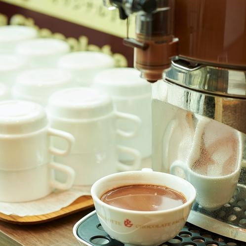 朝食 HOTチョコレート