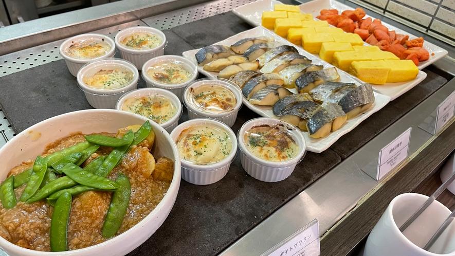 ◆温小鉢、焼き魚、煮物一例