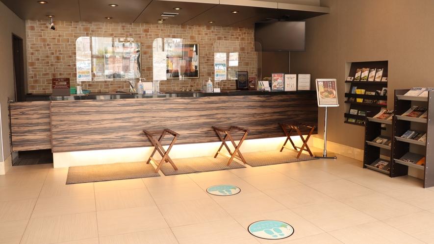 ◆1階フロントカウンター