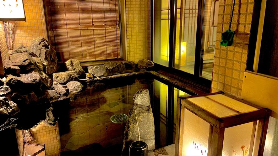 【女性】露天風呂(41℃~43℃)