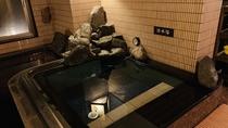 【男性】水風呂(湯温:17~20℃)