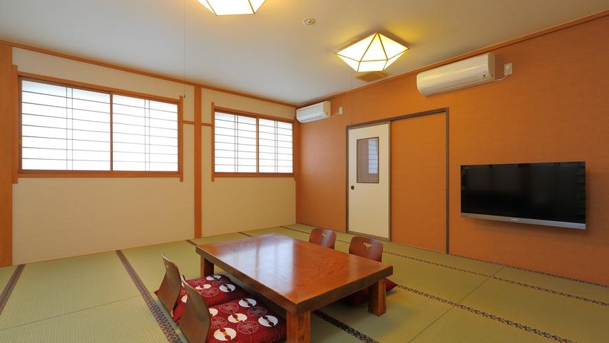 広々とした12畳の和室はグループ旅行やファミリーにおすすめ