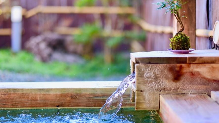 「化粧水の湯」とも称される温泉で贅沢な時間をお過ごしください