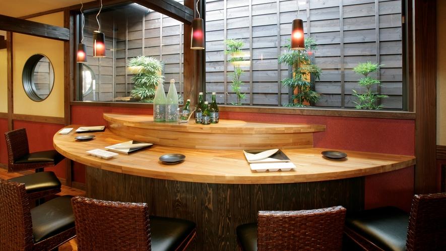 *併設の日帰り温泉「星音の湯」内のレストランです。