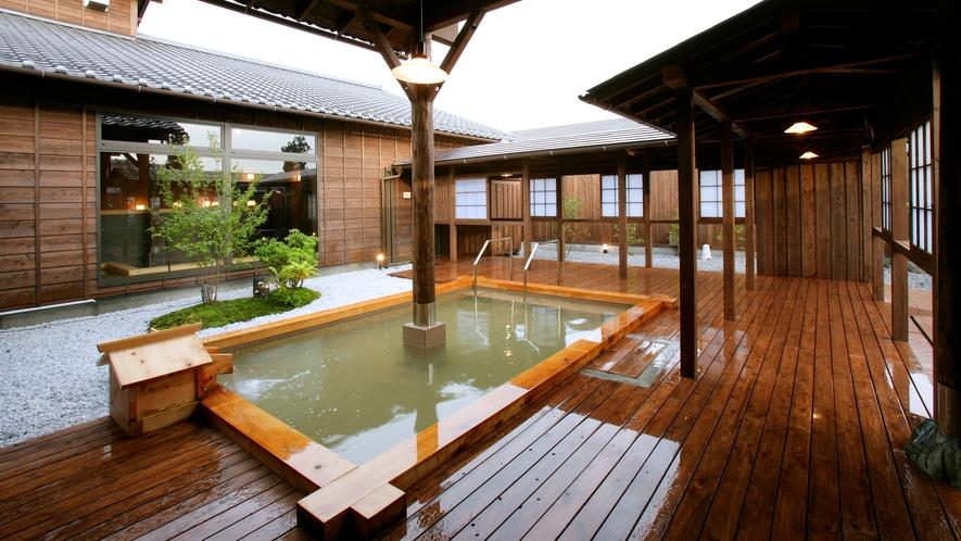 *併設の日帰り温泉「星音の湯」天然自家源泉の極上の湯をご体感下さい♪
