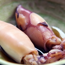スタンダードコース 煮物(豆イカ)*