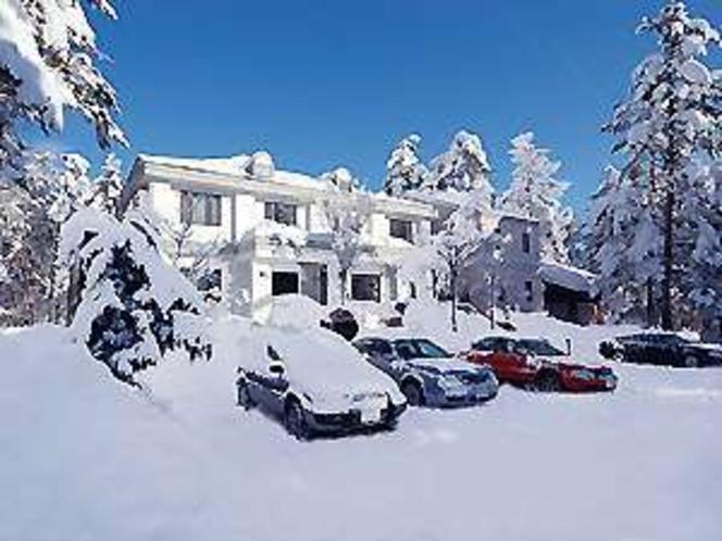 冬にはこんなステキな白銀の中のシルクウッド北アルプスも目前です。