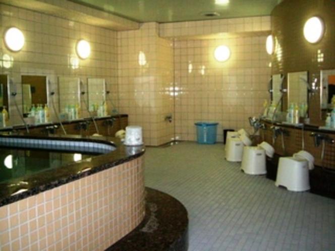 大浴場 3F 人工温泉の湯、サウナ、水風呂
