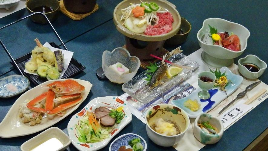*【料理】併設されたお食事処でどうぞ!お酒や一品料理の追加も可能です。