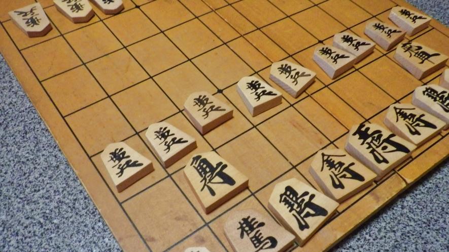 *【部屋】滞在中にお楽しみいただける将棋やオセロをご用意しております。