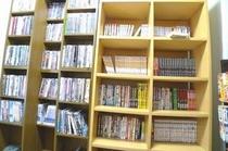 漫画・DVDコーナー