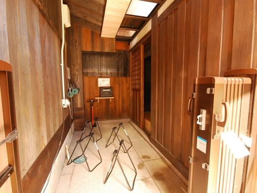【サイクリングプラン】=2食付=自転車置き場が横に設置された客室のプランです