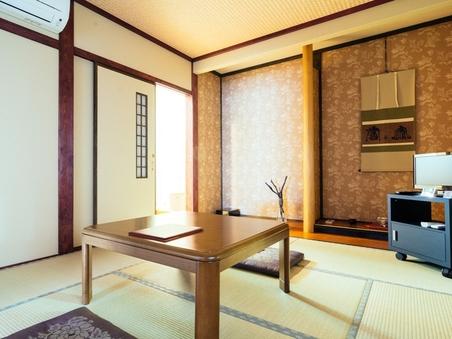 禁煙 檜(6畳+洗面室1.5畳 バス&トイレ付・眺望無)
