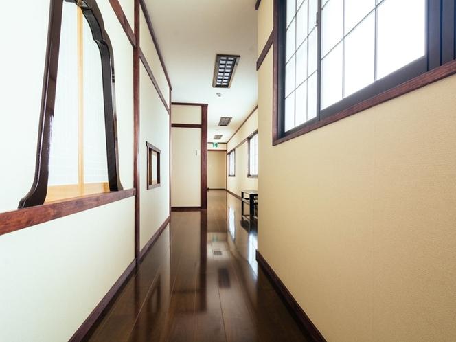 特別室 廊下