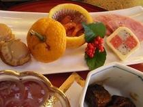 美味しい素材を使った磯なぎ荘のお料理です