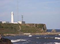 銚子の犬吠崎の灯台です