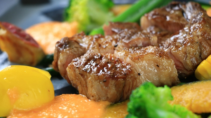 【スタンダード】メインはお肉orお魚でチョイス☆旅館で食べるフレンチコース