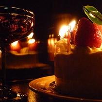特典のケーキ