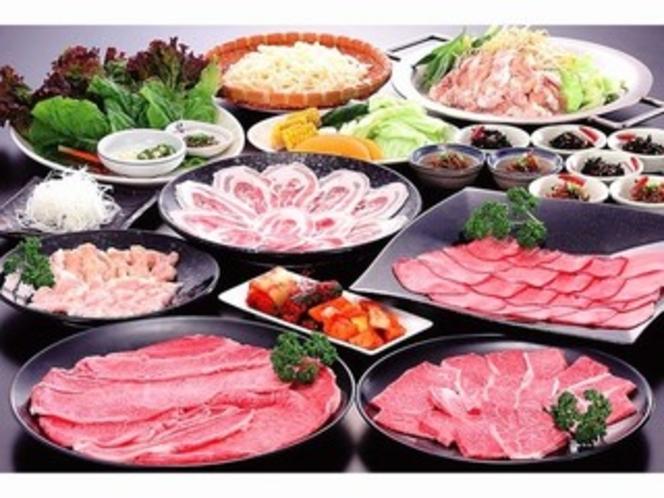 【本場下関の韓国風焼肉プラン】朝食付♪