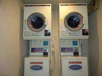 【3階コインランドリー】長期滞在、ご連泊の際に便利です、「洗剤自動投入」