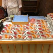夕食バイキング 寿司