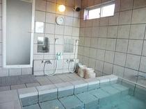 富士眺望風呂の洗い場
