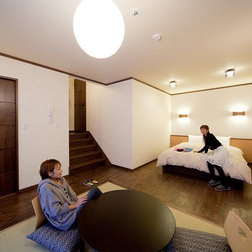 広々とした和洋室のお部屋