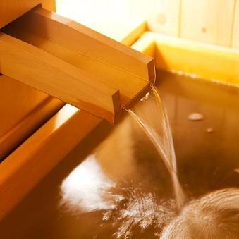 2階 【ヒノキ露天風呂付】和洋室 (ゆったり17畳・ツイン)
