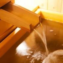 当館のお風呂は温泉です♪
