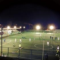 【フットサルコート】夜でもプレー可能。
