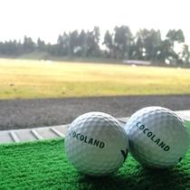 【ゴルフ練習場】ご宿泊翌日のゴルフプレーの肩ならしにも最適!