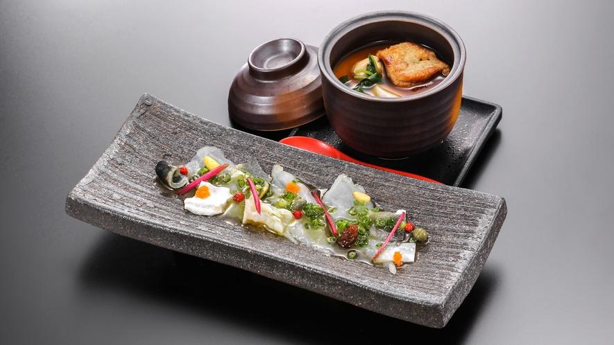 薫(カルパッチョ&茶碗蒸し)(秋)