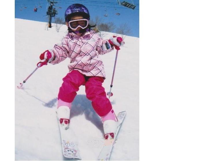 スキーは楽しいよ!!!