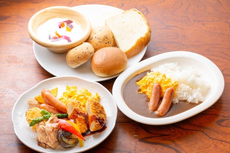 朝食:洋食例