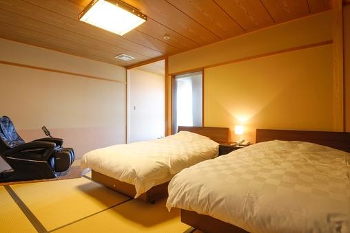 展望風呂付き 和洋室 3階 マッサージチェア付き 「雲頂」