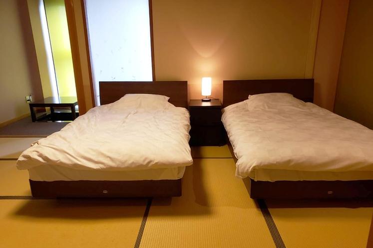 【和洋室】2F~3F・展望風呂付き 和洋室~マッサージチェア付き「海月」「雲頂」~