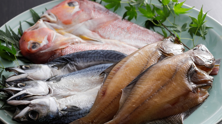 【干物】甘鯛やカレイ、サバの干物